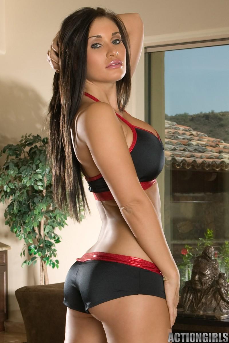 Bentley Shea in lingerie - ass