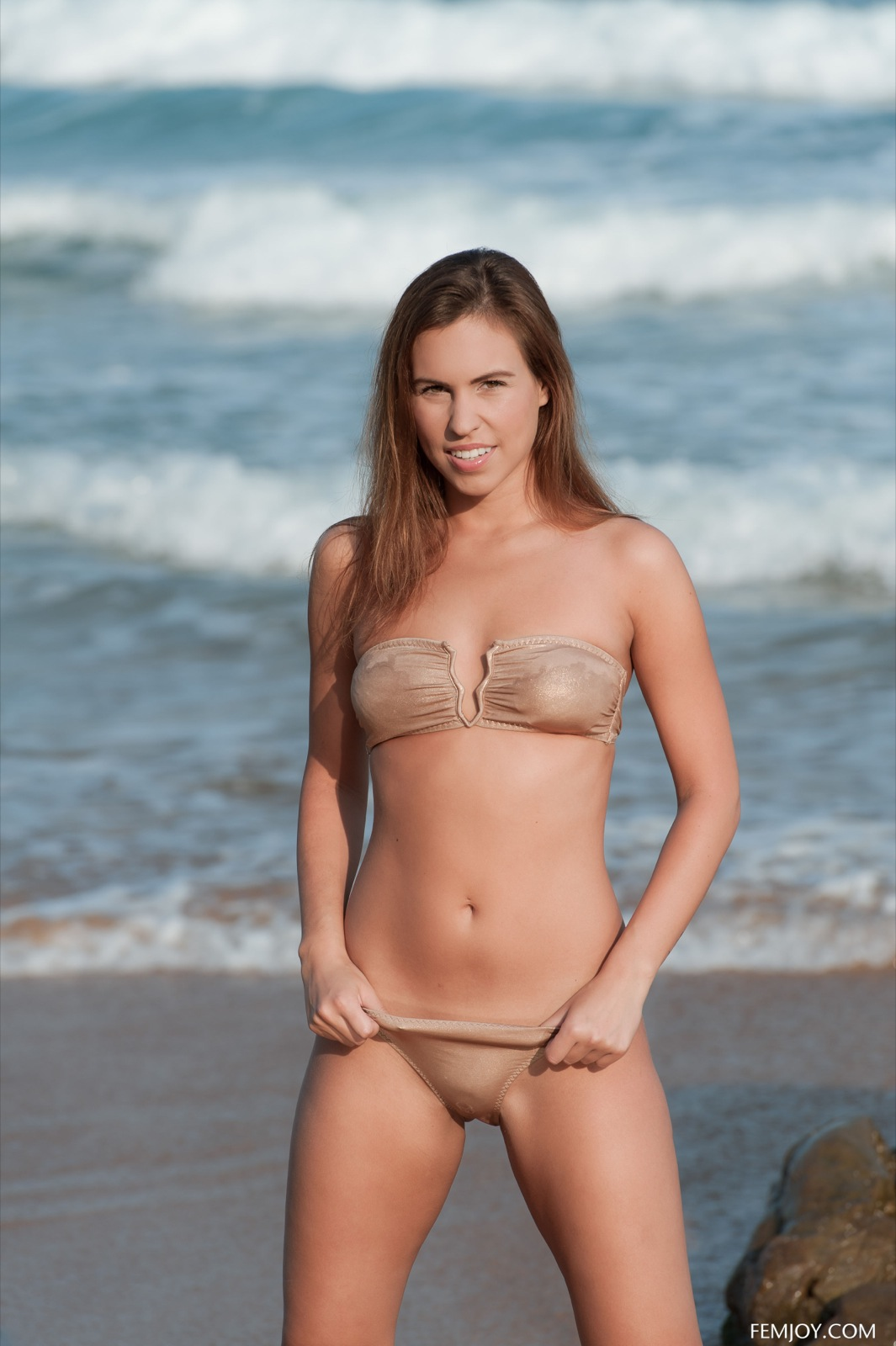 Jenny A in a bikini