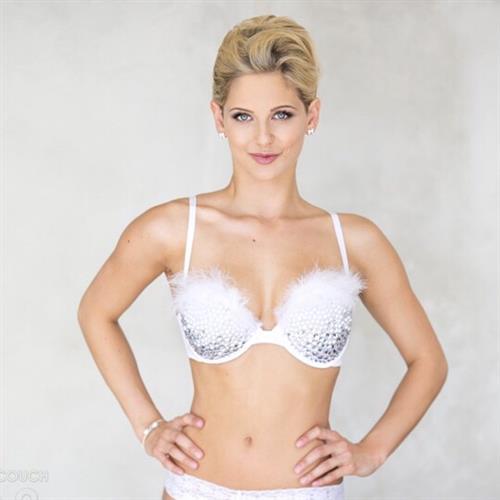 Audrey Allen in lingerie
