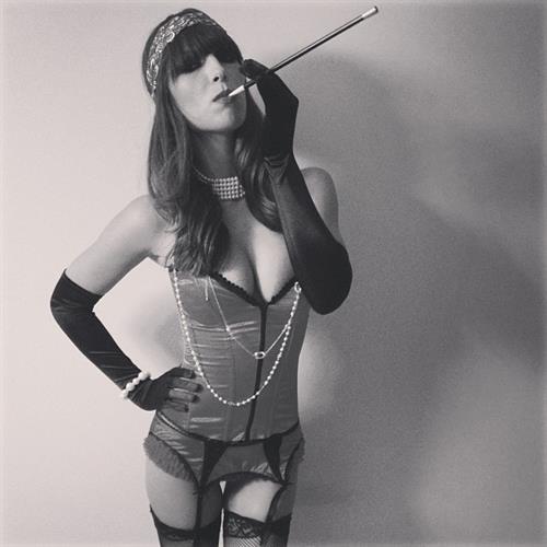 Brittny Ward in lingerie