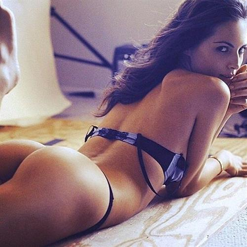 Brittny Ward in lingerie - ass
