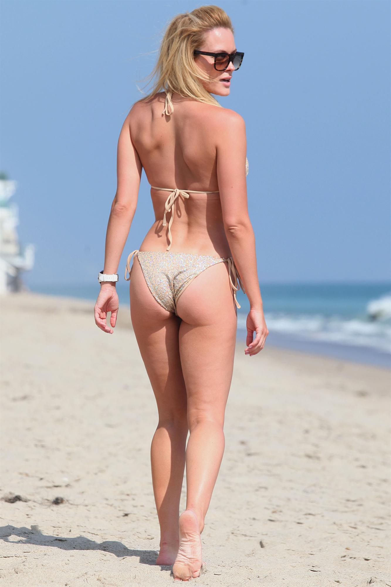 Peta Murgatroyd in a bikini - ass