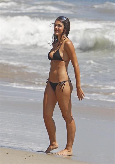 Adrianne Curry in a bikini