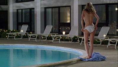 Lorri Bagley in a bikini