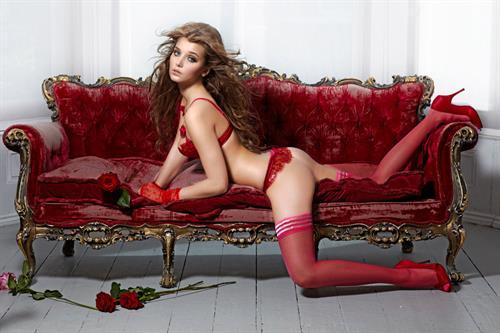 Daria Konovalova in lingerie