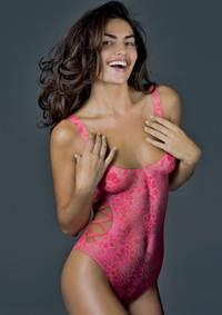 Alyssa Miller in body paint