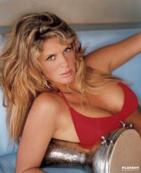 Rachel Hunter in a bikini