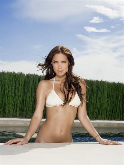Sarai Givaty in a bikini