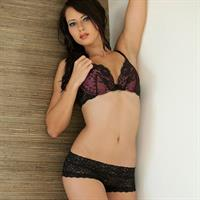 Natasha Belle in lingerie