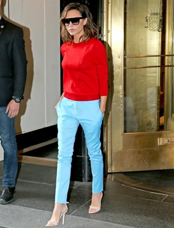 Victoria Beckham Sleek style