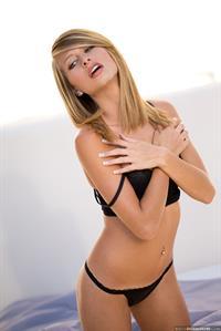 Lauren Clare in lingerie