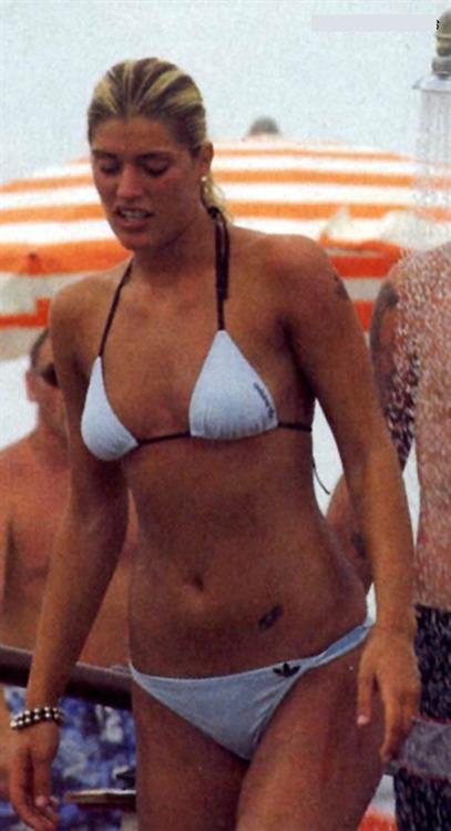 Francesca Piccinini in a bikini