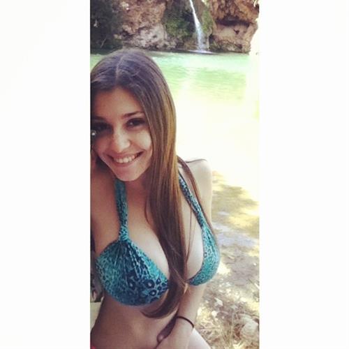 Carolina Neto in a bikini