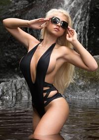Lauren Luongo in a bikini