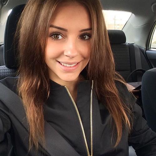 Galina Dubenenko taking a selfie