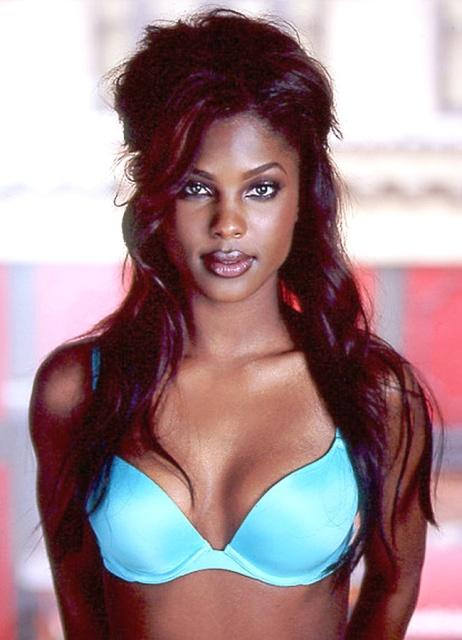Lanisha Cole in lingerie