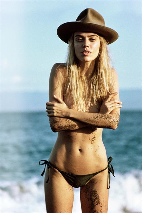 Joanna Halpin in a bikini