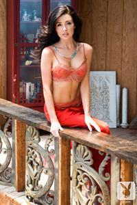 Gemma Lee Farrell in lingerie