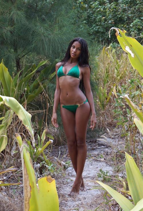 Nargis Amelina in a bikini