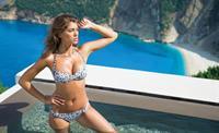 Veronika Istomina in a bikini