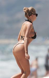Charlotte McKinney in a bikini - ass