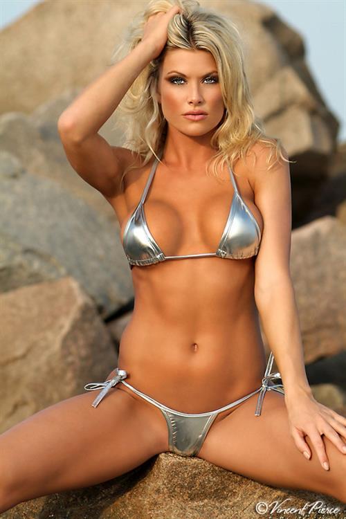 Jessica Durden in a bikini