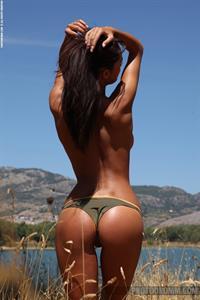 Ela Savanas in lingerie - ass