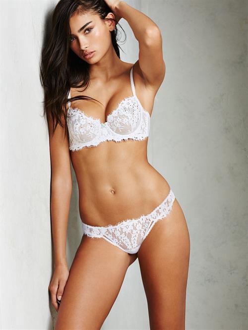 Kelly Gale in lingerie