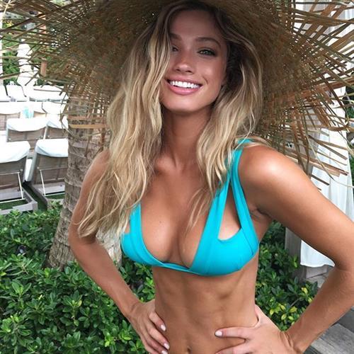 Maggie Rawlins in a bikini