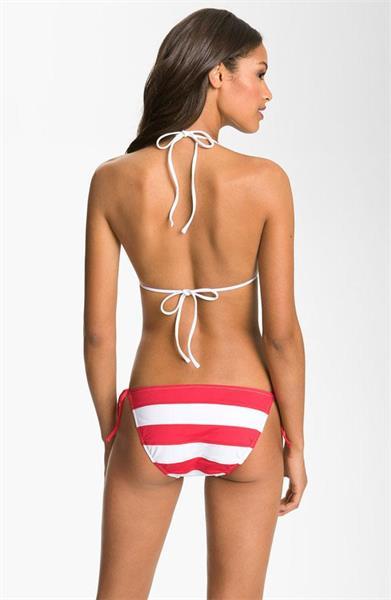 Alexandra Collins in a bikini