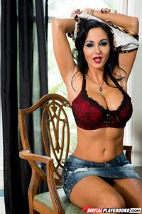 Alexia Roy in lingerie