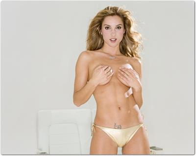 Shana Hiatt in lingerie