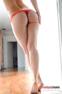 Anastasia Harris in lingerie - ass