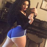 Jailyne Ojeda Ochoa taking a selfie and - ass