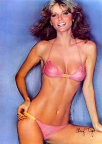 Cheryl Tiegs in a bikini