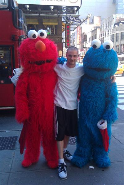 this is a picture of me about 5 years ago in New York