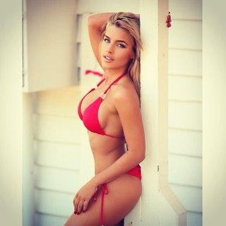 Keyara Watts in a bikini