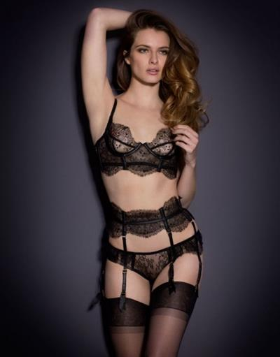 Georgina Howard in lingerie