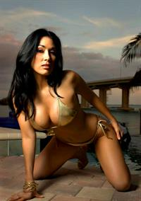 Erika Estrada in a bikini