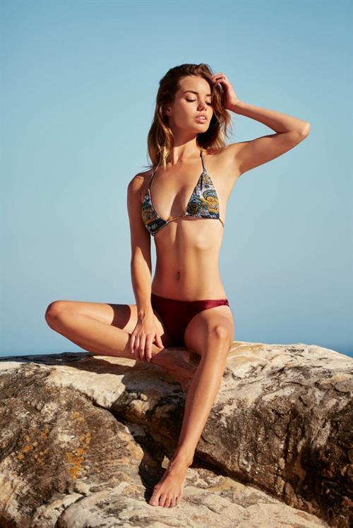Annie Ericson in a bikini