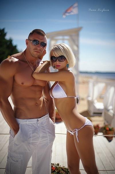 Ekaterina Enokaeva in a bikini