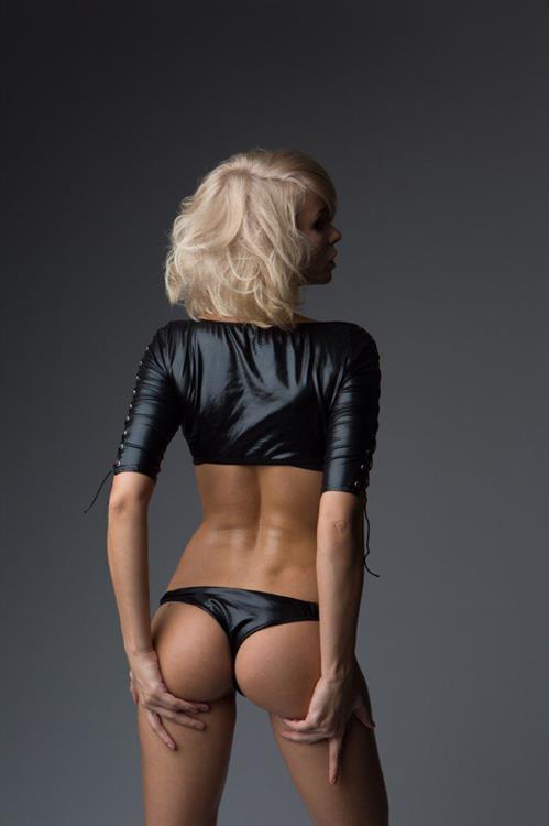 Ekaterina Enokaeva in lingerie - ass