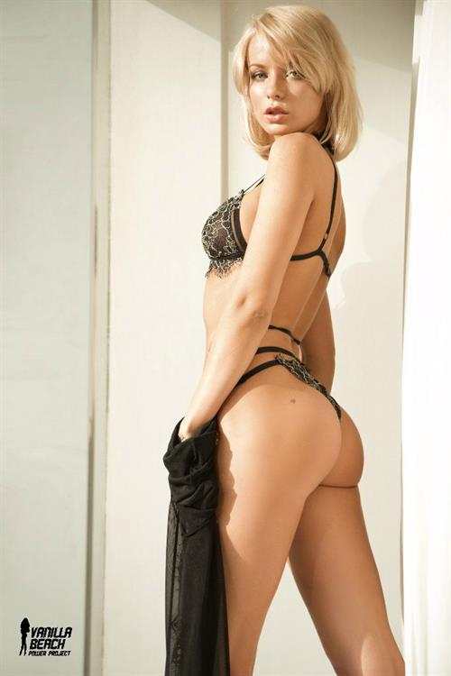 Ekaterina Enokaeva in a bikini - ass
