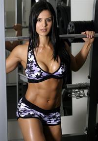 Eva Andressa in a bikini