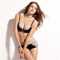 Candice Boucher in lingerie