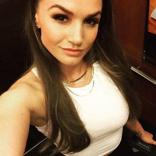 Tori Black taking a selfie