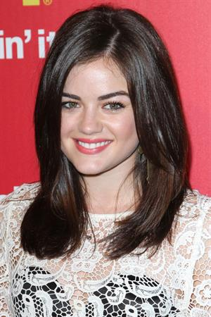 Lucy Hale at the McDonalds Hollywood Style Red Carpet Party