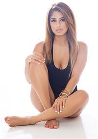 Crystal Vizcarra in a bikini