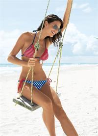 Reka Ebergenyi in a bikini