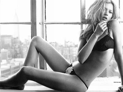 Kate Moss in lingerie